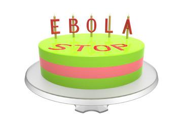Ebola cake