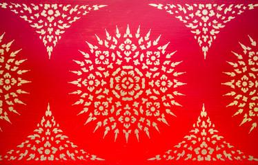 Thai painting texture