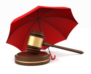 Umbrella for Gavel