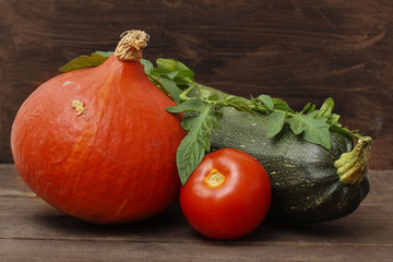 Vegetable in autumn season still life