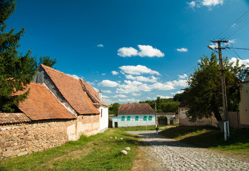 Viscri village, Transylvania, Romania
