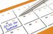 Seminar als Erinnerung im Kalender
