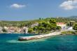 Obrazy na płótnie, fototapety, zdjęcia, fotoobrazy drukowane : Greece, Sithonia, embankment in Neos Marmaras