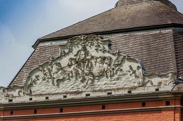 Relief am Dach