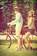 together on a bike