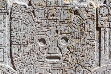 Tiwanaku Face