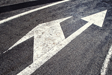 Crossroad intersection choice