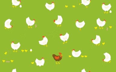 Pattern Chicken Farm