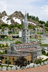 "Park ""Italy in miniature"", Rimini"