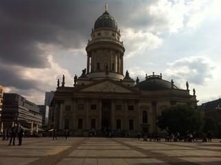 German Cathedral at Gendarmenmarkt in Berlin