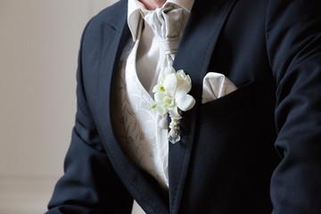 Anzug eines Bräutigams