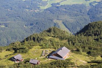 Вид с вершины Унтерсберг.