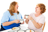 Friends Laughing Over Tea