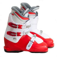 Modern professional ski boots
