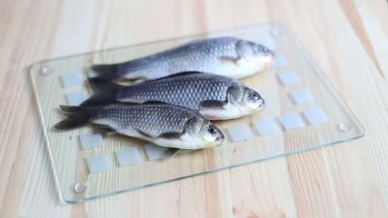 Three fishes.