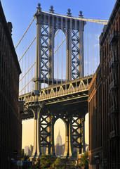 New York City, USA - Manhattan Bridge