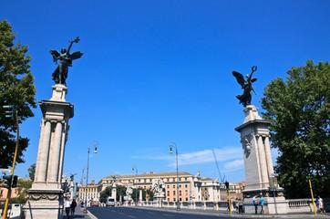 Ponte Vittorio Emanuele II in Rom