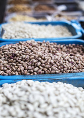 Beans on the market