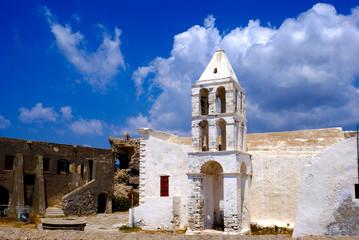 Old church at Kythera island, Greece