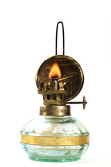 kerosene lamp fire