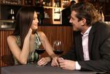 Couple drinking wine - Fine Art prints