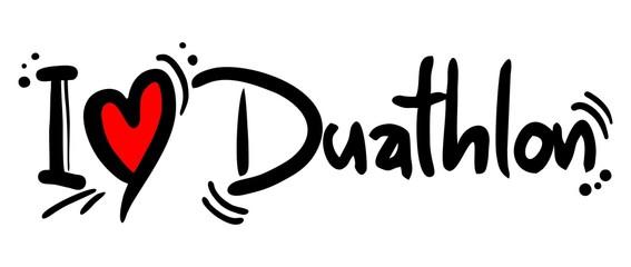 Duathlon love