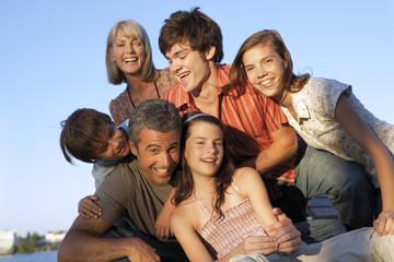 A family portrait.
