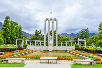 Hugenotten-Denkmal, Franschhoek, Westkap, Südafrika