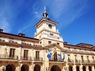 Building of Oviedo city hall, Asturias, Spain