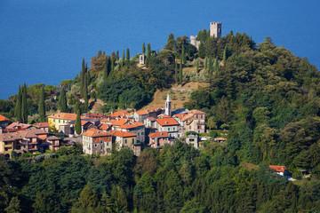 Castle on Como Lake