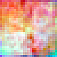 Light colorful pixel background
