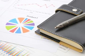 ビジネスチャートとシステム手帳