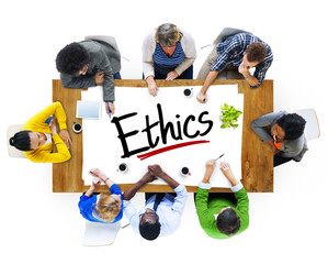 Multiethnic People Discussing About Ethics