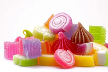 Group of candy Thai dessert, Thailand