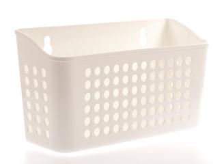 Plastic basket on