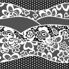 lace embroidery seamless pattern