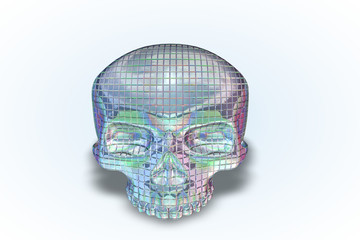 Disco Ball Skull. Series. II