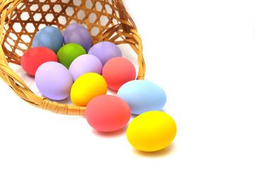 Easter basket spilling