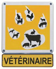 panneau clinique vétérinaire