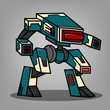 Square Box Style Robot