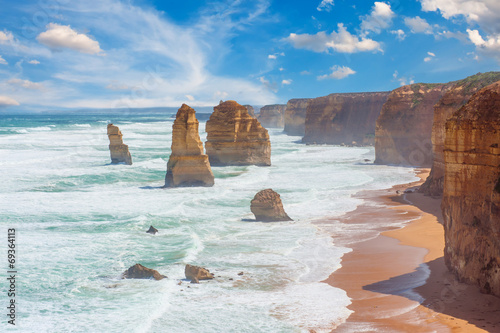 Deurstickers Water Twelve Apostles