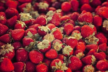 Strawberry vintage toning