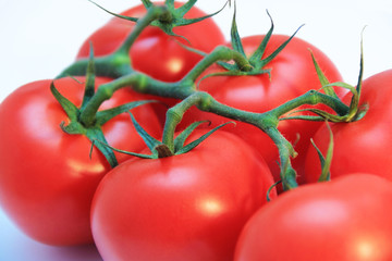 Tomatoes close-up
