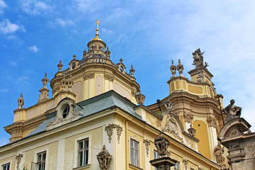 St. George's Cathedral in the city of Lviv, Ukraine