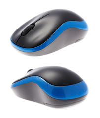 Beautiful design of a computer wireless mouse