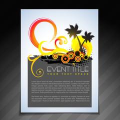 summer brochure design