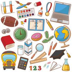 School & Education Icons