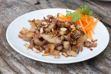 Pork with Garlic