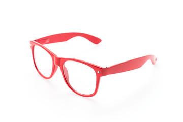 Colorful Eyeglasses isolated on white