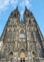 Front of cologne cathedral, Germany